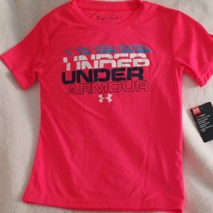Under Armour HeatGear Tee - Size 6 Youth